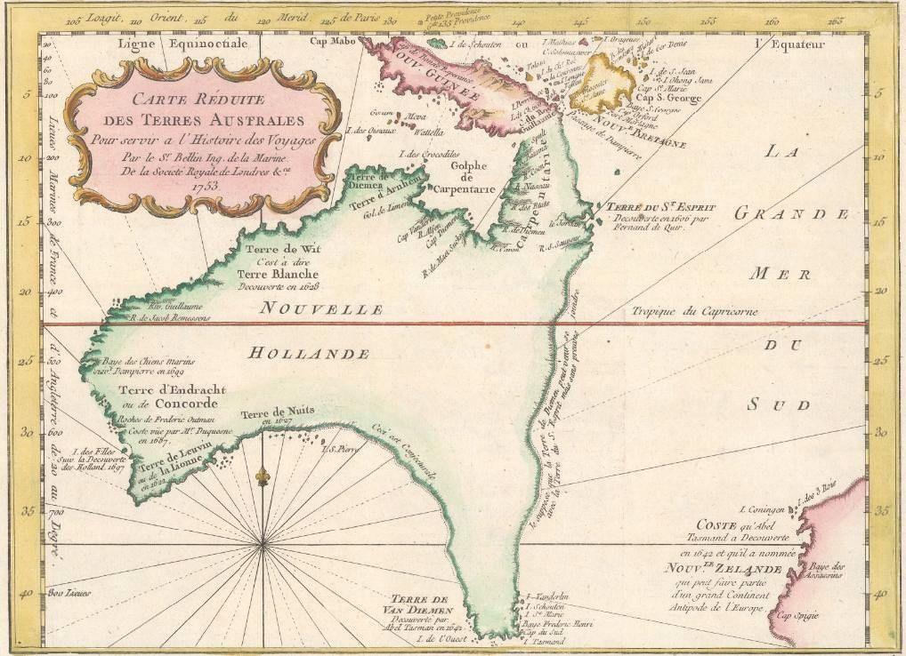Old maps of Australia | Australia | Pinterest | Australia map, Map ...
