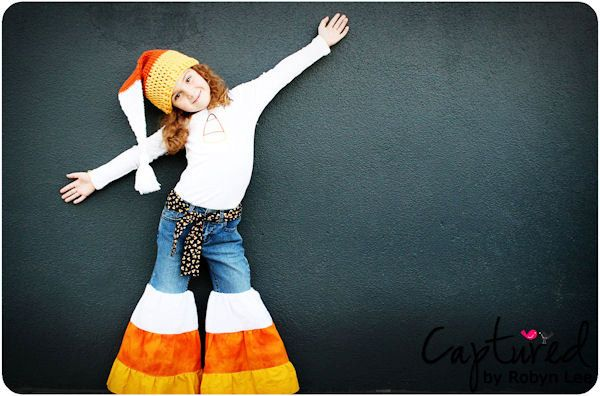 Fall CANDY CORN jeans