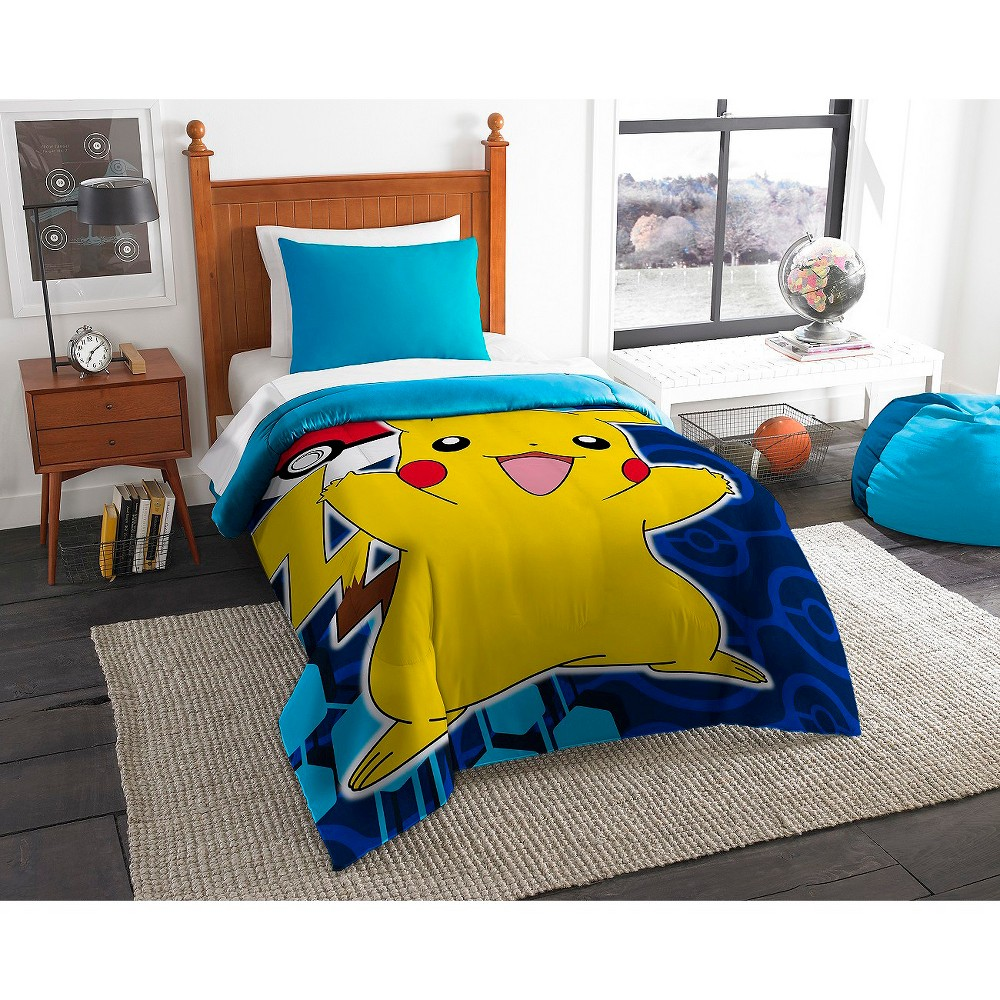 Bettwäsche Pokemon Pokémon Pika Pokeball Comforter Multicolor Twin Stuff I