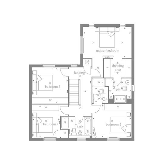 New Detached Home In Bollington Cheshire From Bellway Homes Bellway Homes House Plans Home Builders
