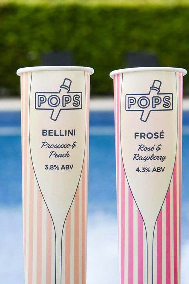These Boozy Popsicles Come in Champagne, Frosé, and Prosecco!