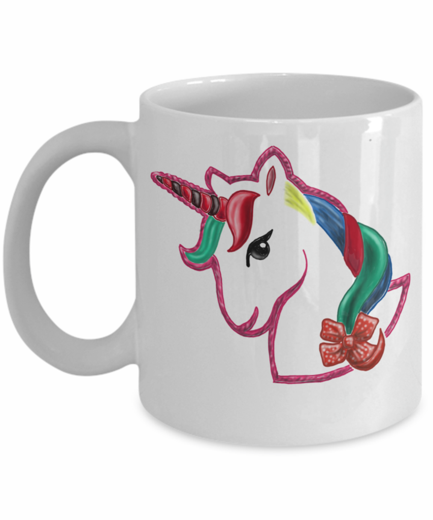 Kid In Candy Store Unicorn Coffee Mug Unicorn Coffee Unicorn Coffee Mug Jojo Siwa Birthday