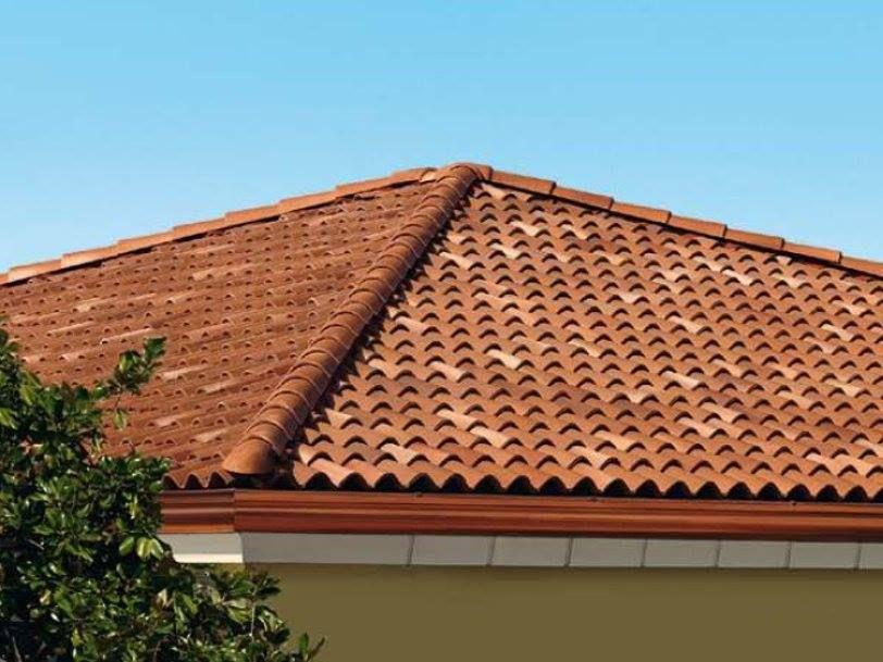 قرميد اخضر ازرق احمر اسود قرميد معدني قرميد كوري قرميد ايطالي قرميد اسباني Outdoor Decor Outdoor Building