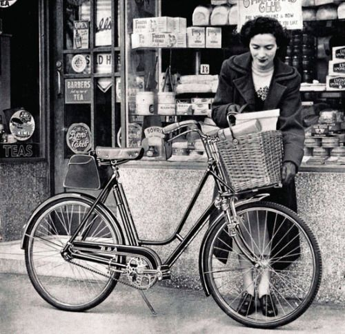 The 1950s | Bicycle, Safety shop, I want to ride my bicycle