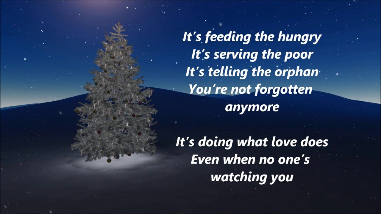 Matthew West And Amy Grant Give This Christmas Away Lyrics Amy Grant Matthew West Christmas Lyrics