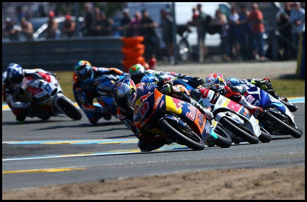 Cabeza de carrera de #Moto3 con Jack Miller.