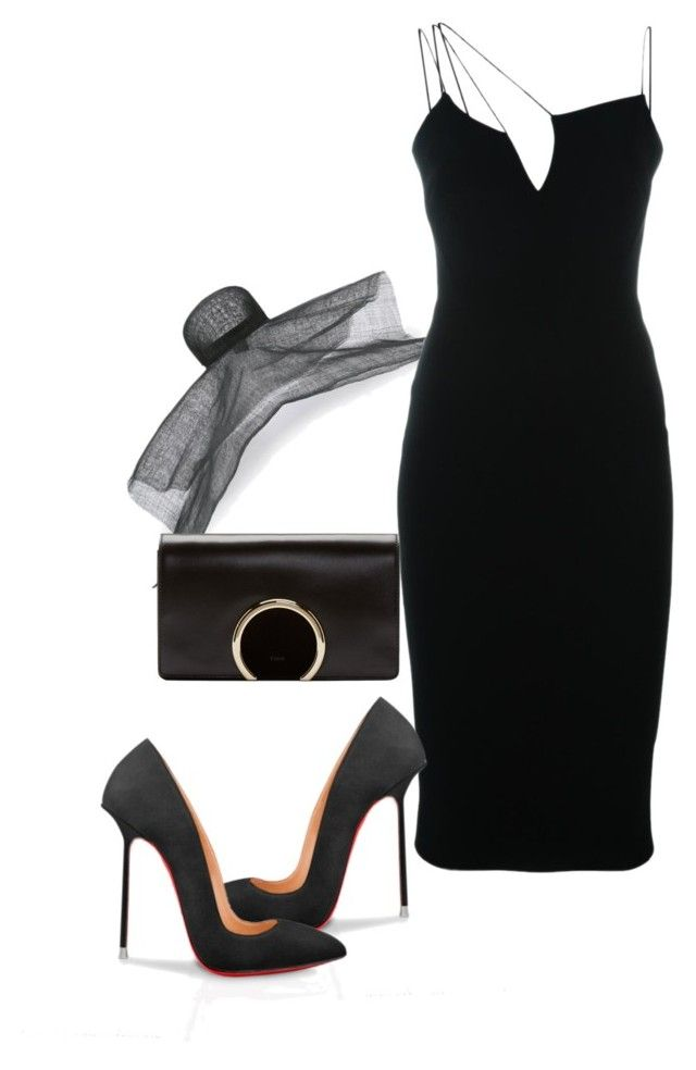 """""""Untitled #6399"""" by tailichuns on Polyvore featuring ISABEL BENENATO, Victoria Beckham and Chloé"""