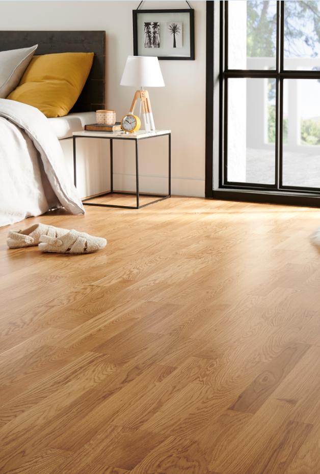 Adoptez Le Parquet Contrecolle A L Effet Naturel Pour Rechauffer L Ambiance D Une Piece Moderne Castorama Inspiration Wood Floors Hardwood Floors Flooring