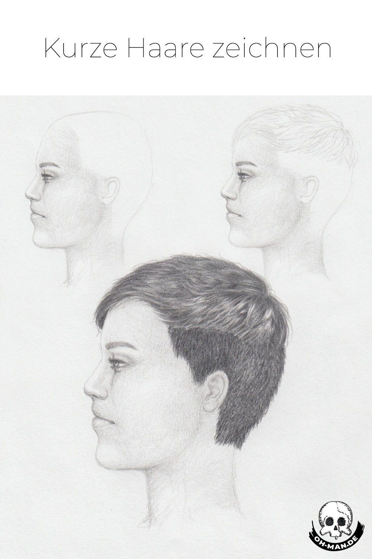 Kurze Haare Zeichnen Lernen In 2020 Haare Zeichnen Menschliche Zeichnung Zeichnen Lernen