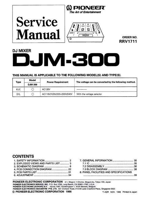 Pioneer Manuals