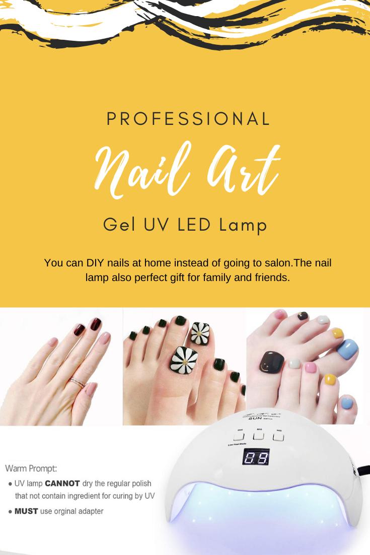 Professional Nail Art Gel Uv Led Lamp Uv Led Diy Nails At Home Professional Nail Art