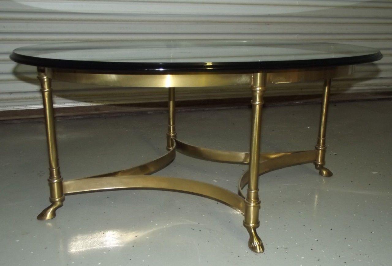 Vintage Labarge Italy Ram Goat Hoof Brass Glass Coffee Table Hollywood Regency Glass Coffee Table Coffee Table Table [ 869 x 1280 Pixel ]