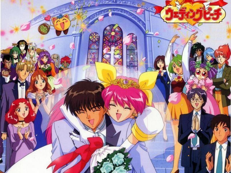 wedding peach ウェディングピーチ, 子供時代, 魔法少女