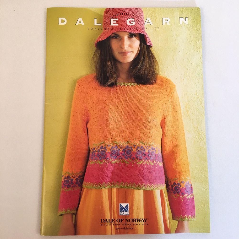 Dalegarn Dale of Norway Knitting Pattern Booklet Norwegian Designs ...