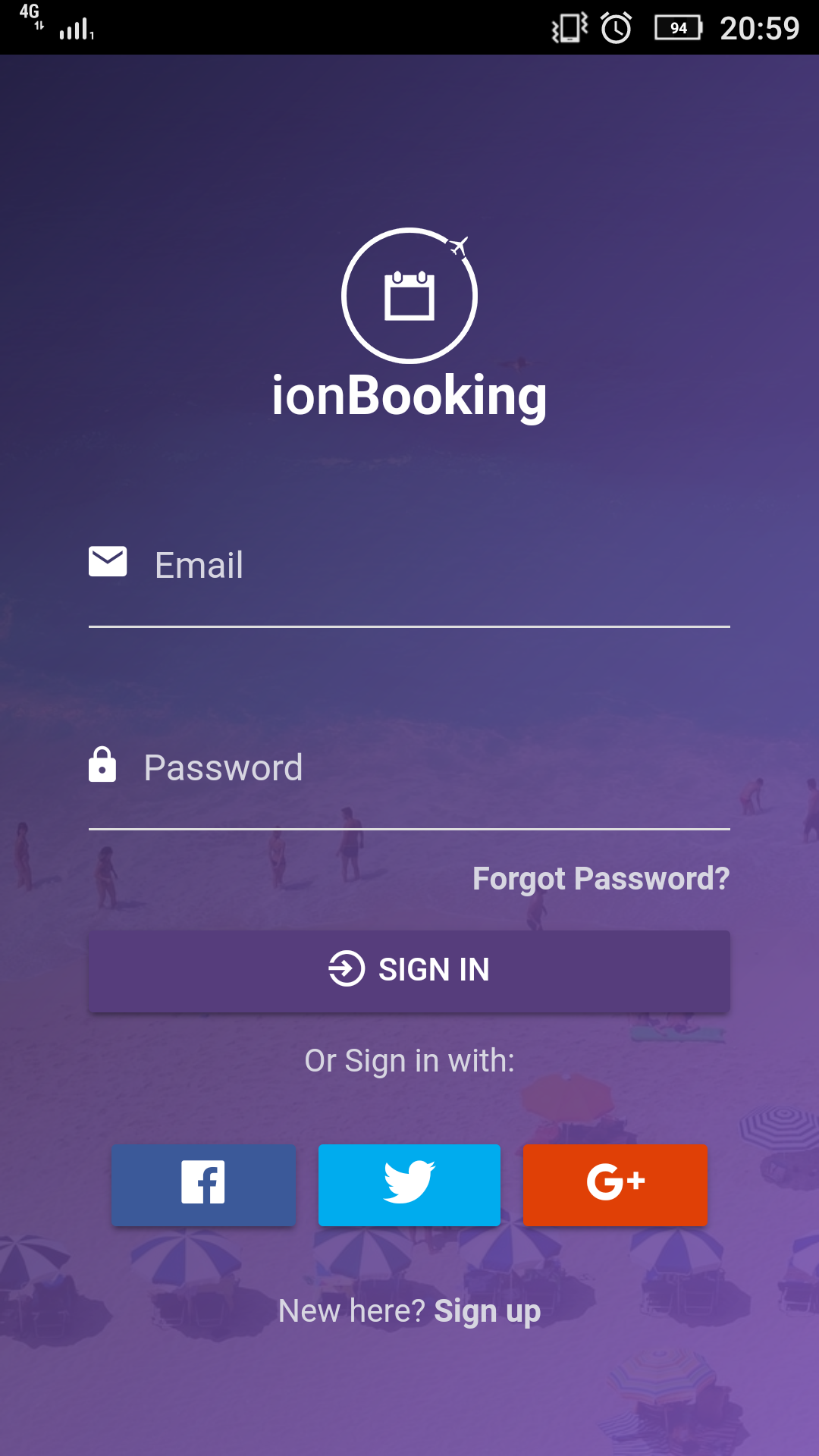 ionBooking - Ionic 3 Hotel Booking Theme with Rent a Car and