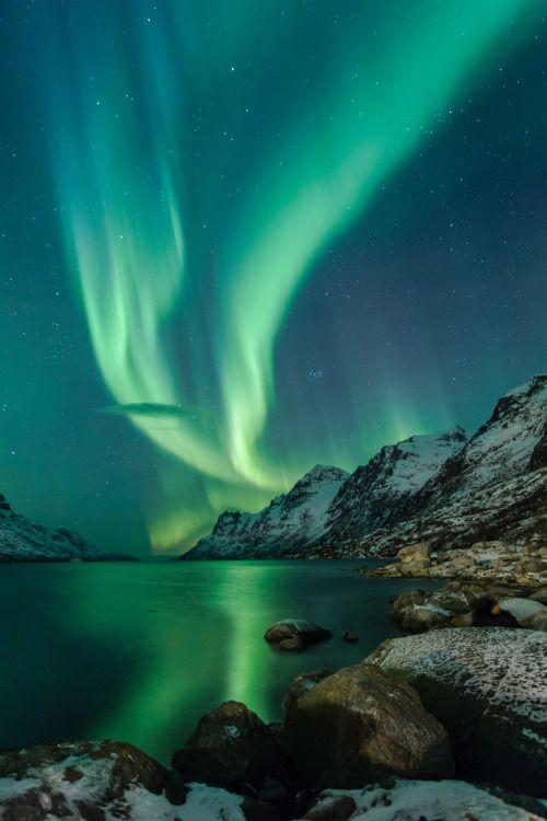 Ersfjordbotn Portrait by veronique robin Amazing Nature - new blueprint alberta northern lights