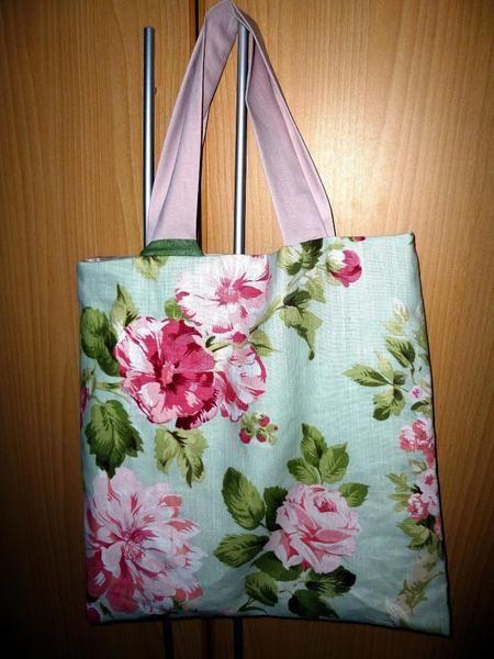 romantische Sommertasche , Rosen von Heike´s Kleinigkeiten auf DaWanda.com