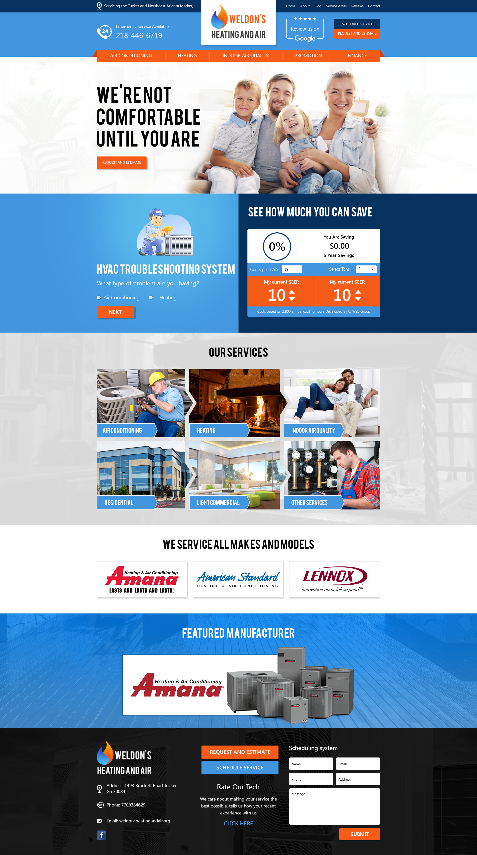 Pin by CI WEBGROUP on HVAC (Heating and AC Clients) Custom Website ...