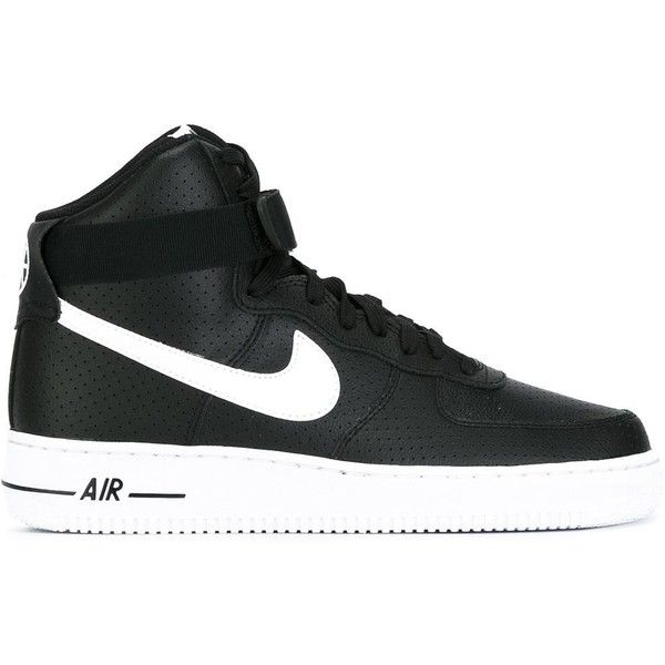 Nike 'Air Force 1' hi-tops ($127) ❤ liked on Polyvore ...