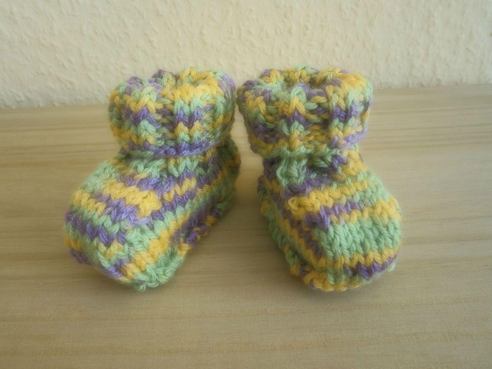 Schuhe für Frühchen, Socken handgestrickt, Fußlänge bis 7cm ...