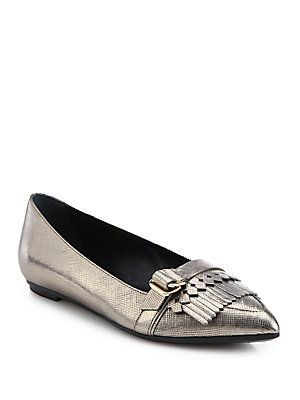 buy cheap clearance store buy cheap many kinds of Tod's Leather Fringe Flats Ic9QJ