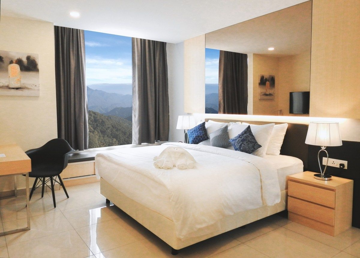 Beating The Heat At Gloria Residences Residences Lodge Decor Serviced Apartments