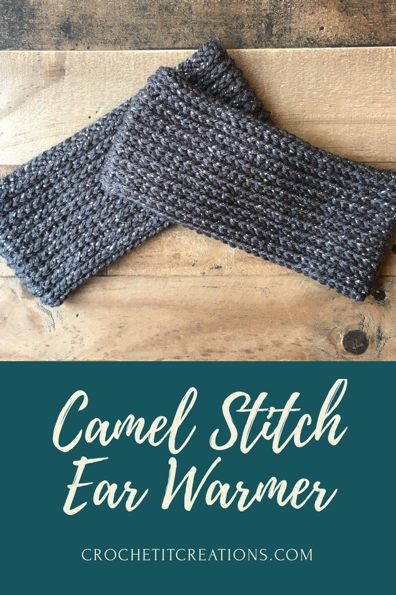 Camel Stitch Ear Warmer | Free crochet, Camels and Crochet