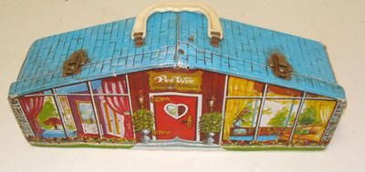 Vintage 1967 Uneeda Pee Wee Doll Dream House Ideal Toy Corp Dolls