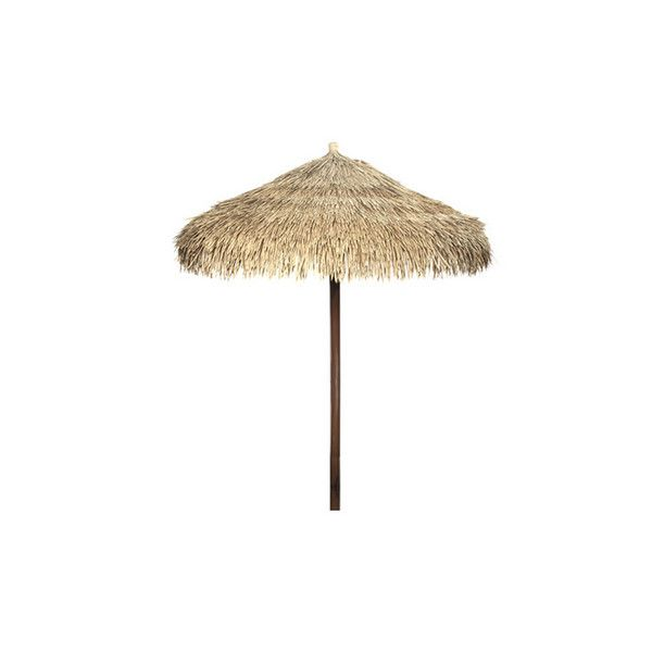 Bali Umbrella Straw Beach 30 Liked On Polyvore Featuring Accessories