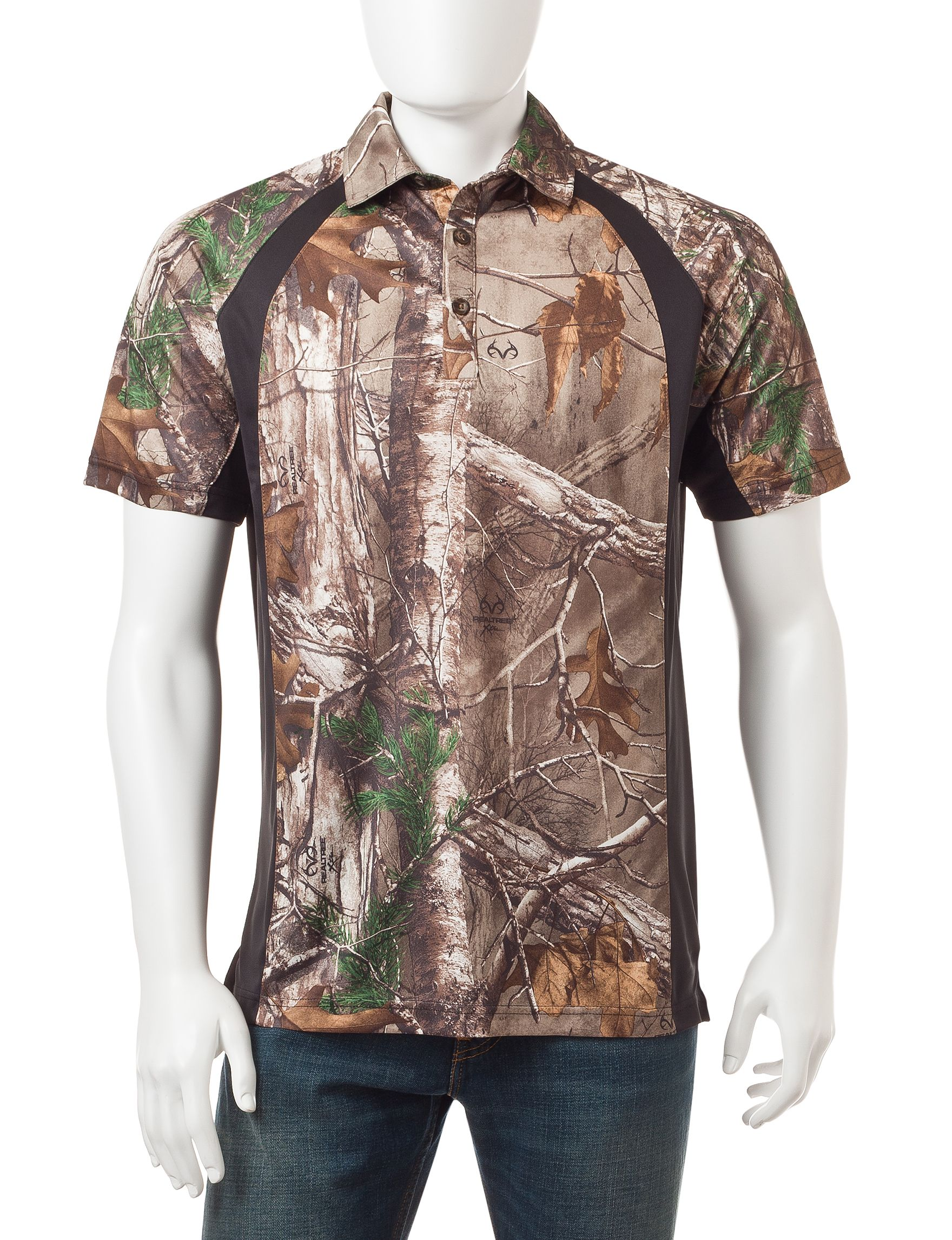 c797831212cea Earthletics Realtree® Xtra Camo Print Polo Shirt | Stage Stores ...