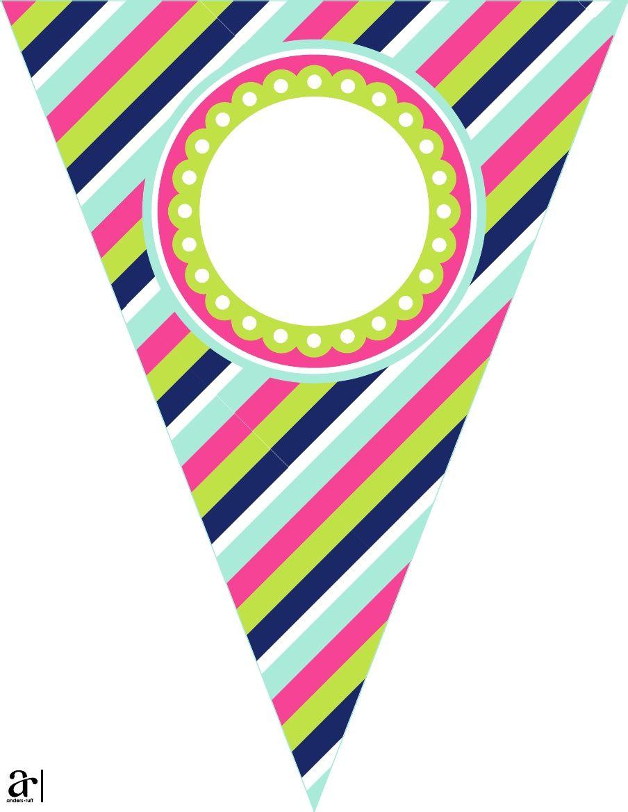 Glorilys | banderines | Pinterest | Banderin, Etiquetas y Imprimibles