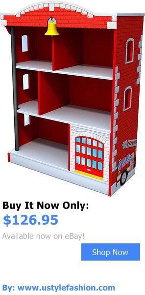 Nursery Furniture Sets Kidkraft Fire Truck Bookcase 76026 It Now Only 126 95
