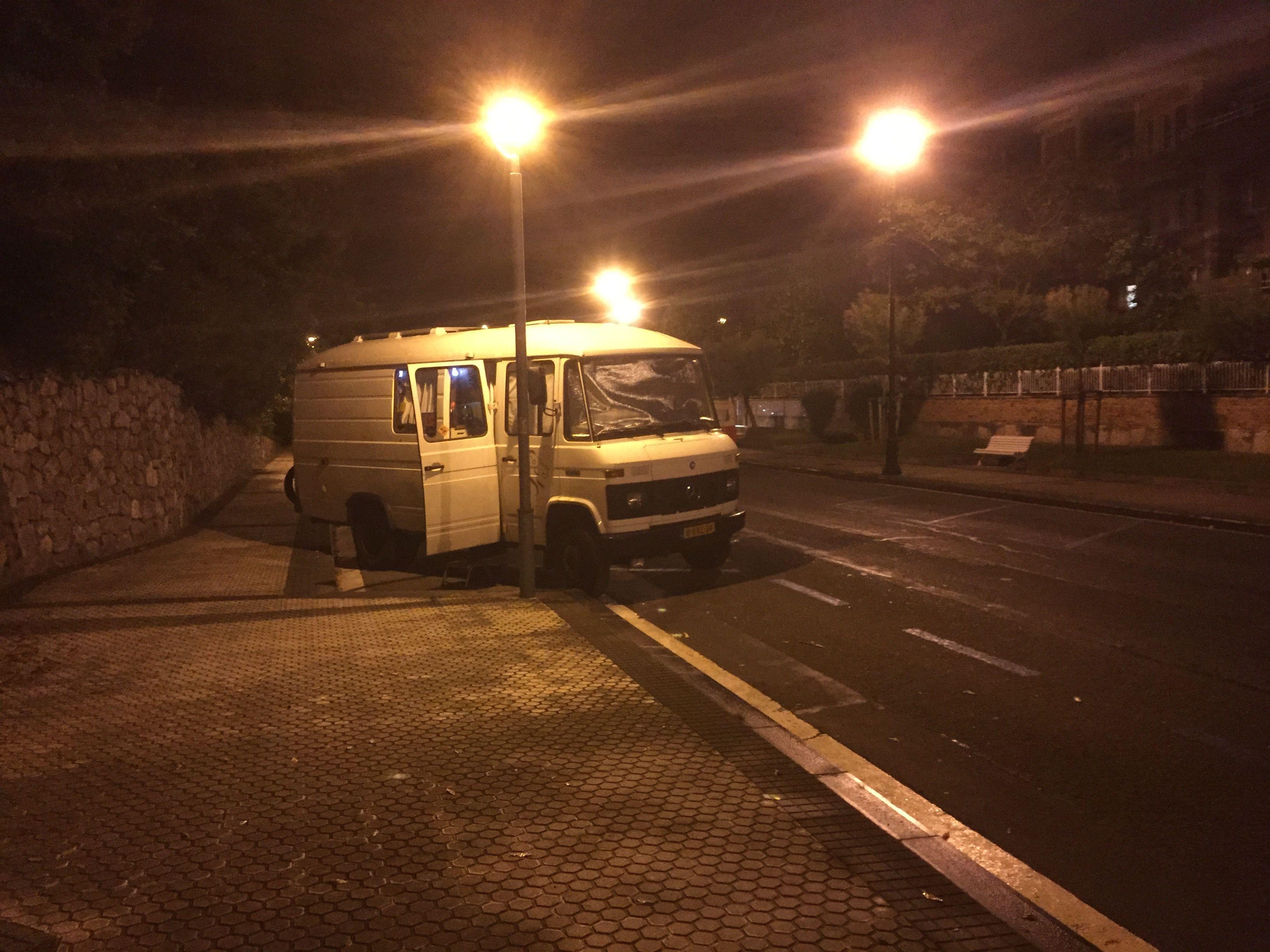 Free parking at San Sebastian 2015
