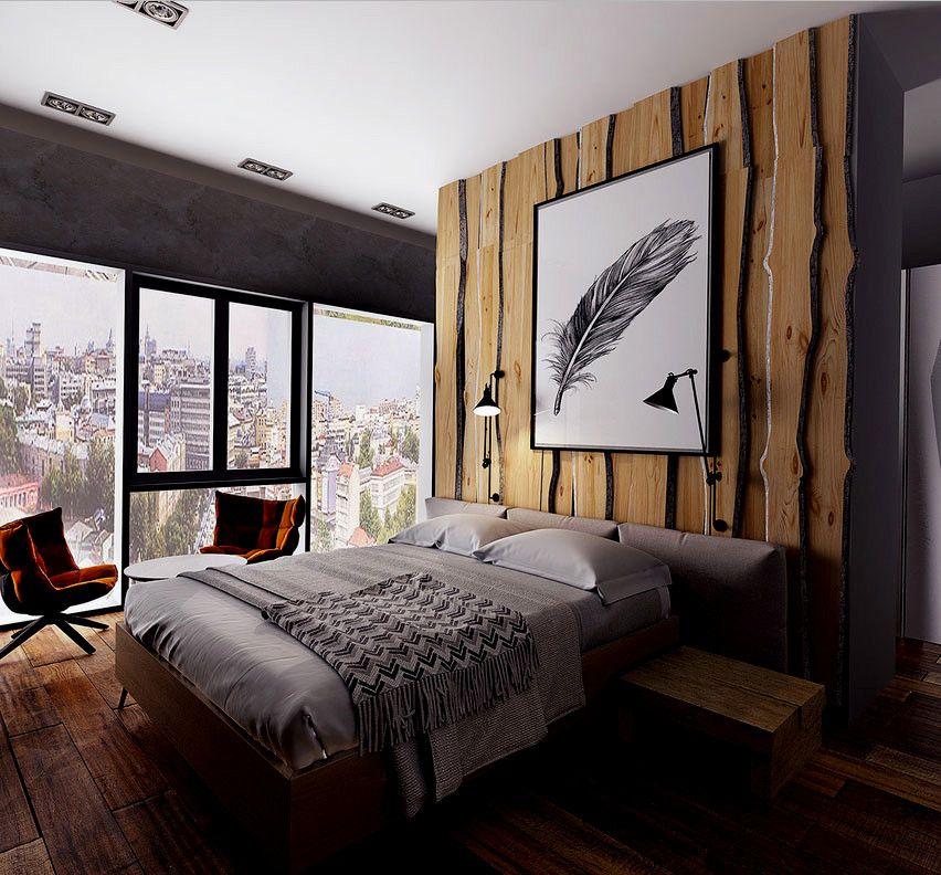 Hausdesign Rustikales Schlafzimmer Rustikal Modern Design Mit