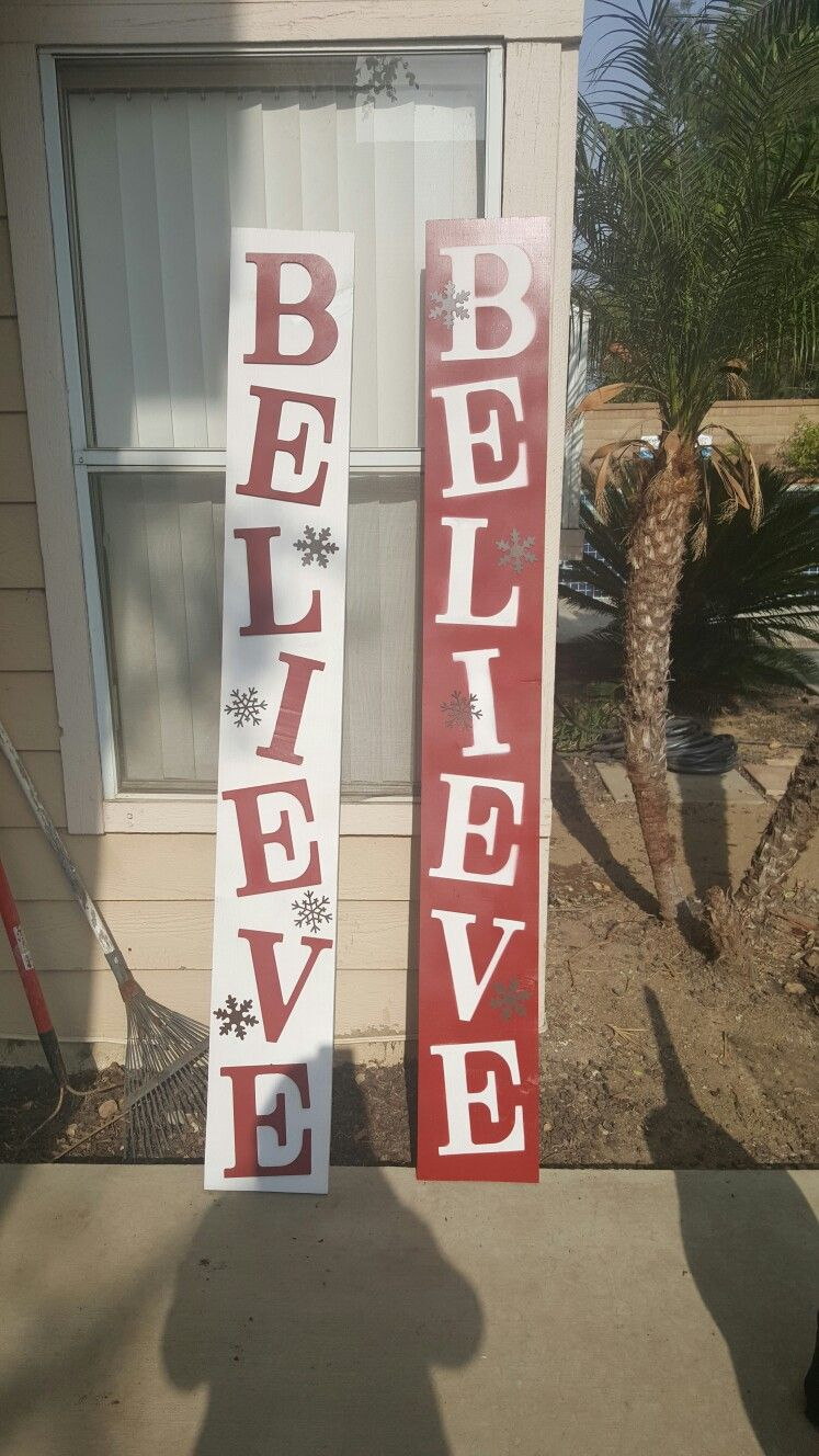 believe christmas sign for inside or out christmas signs wood santa christmas country