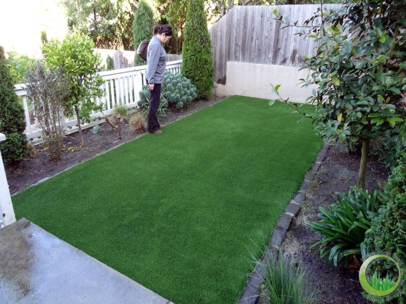 Minimalist landscaping ideas for small backyards with dogs http://livingwellonthecheap.com/2012