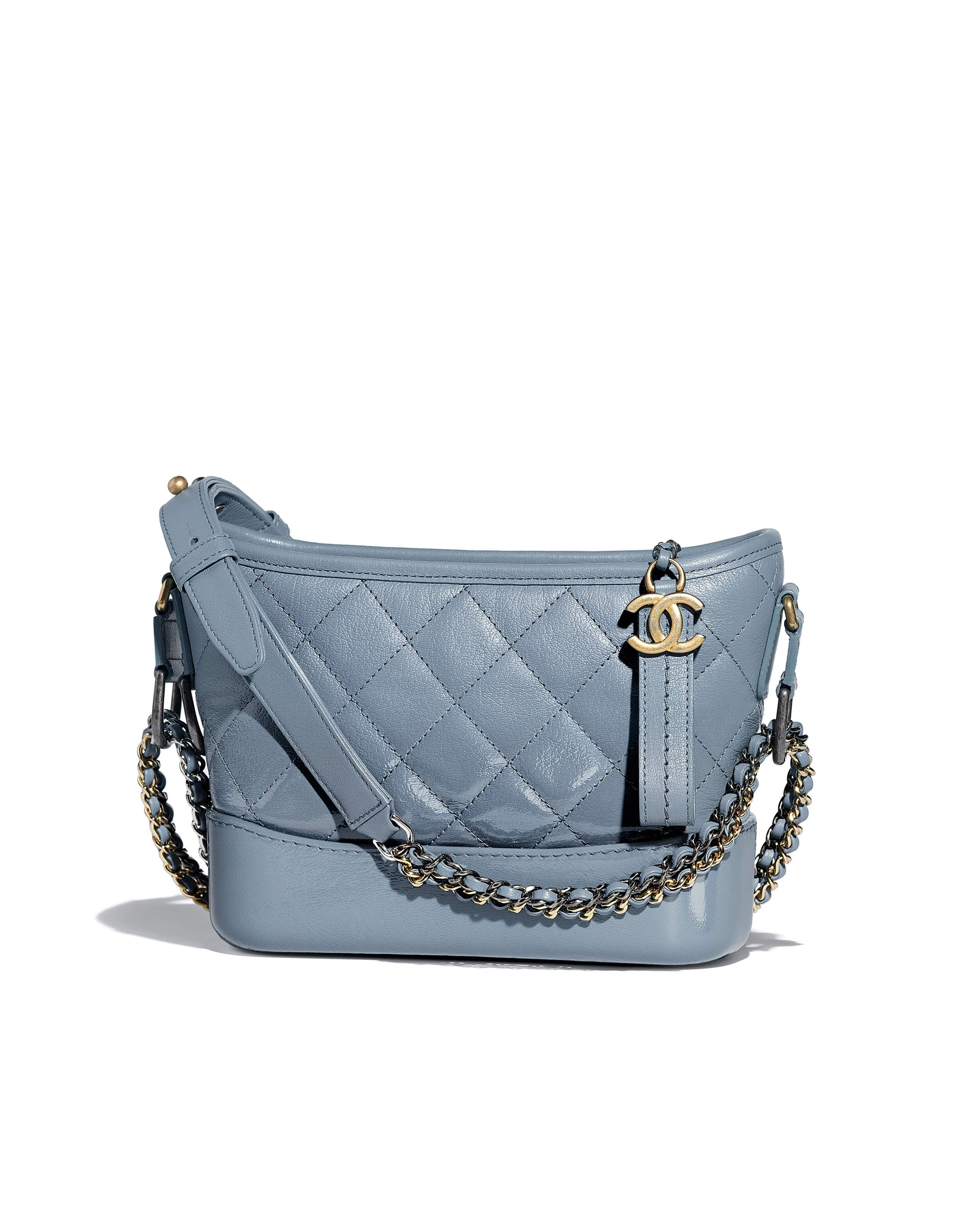 7074e88342a Chanel - SS2018 | Blue Chanel's Gabrielle small Hobo bag | BAGS ...