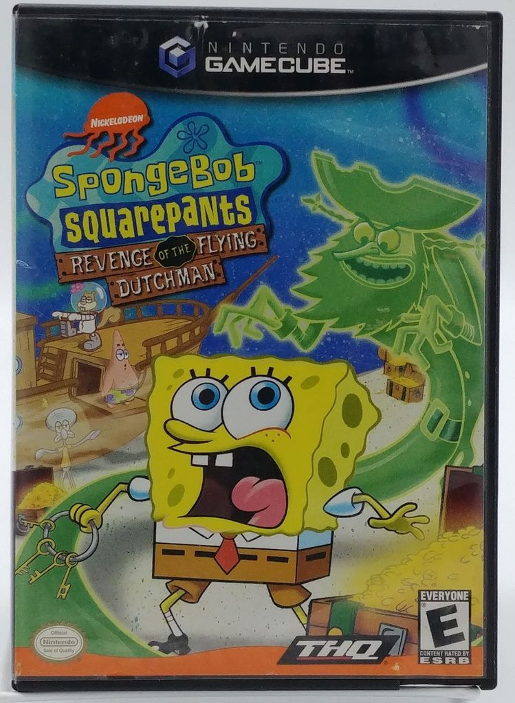 Spongebob Squarepants Revenge Of The Flying Dutchman Complete