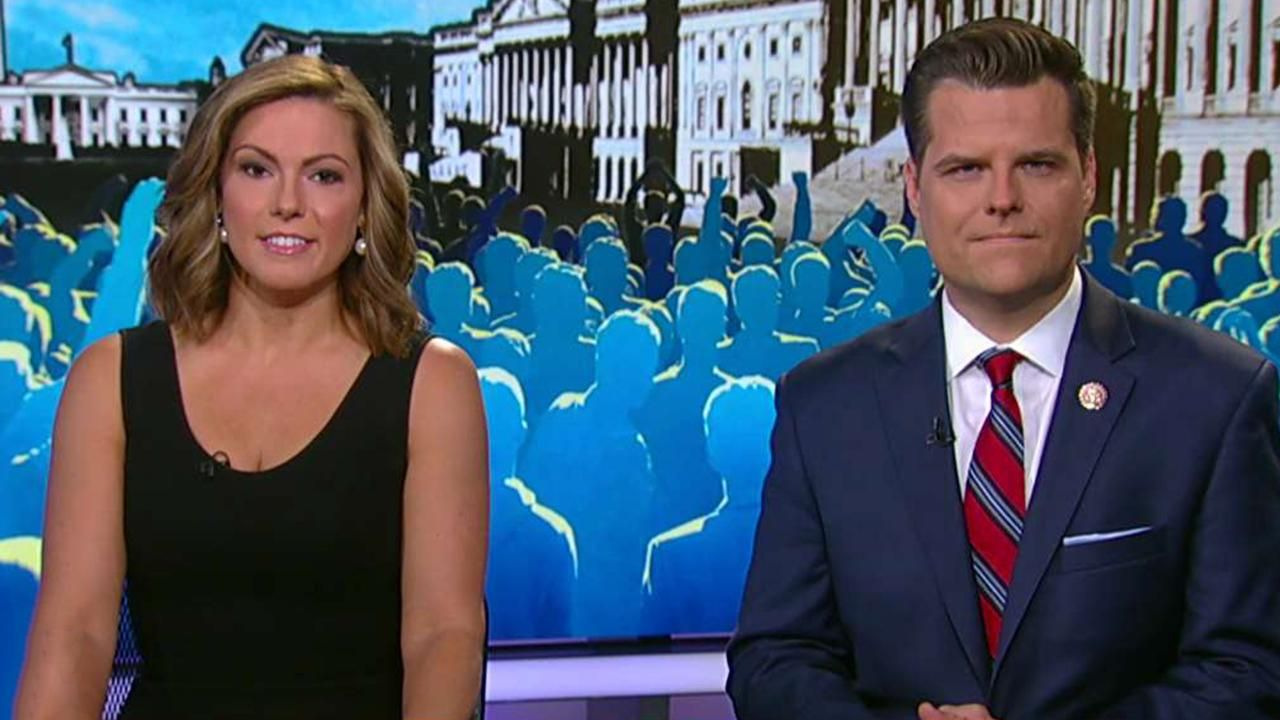 Rep. Matt Gaetz and Lisa Boothe react to mass shootings in