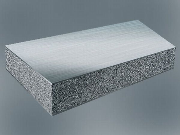 Aluminium Foam Sandwich Afs Is A Sandwich Panel Product Which Is Made Of Two Metallic Dense Face Sheets And A Metal Foam Core Made Of An Aluminium Allo Technik