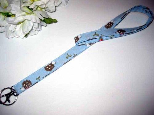 LANYARD, neck.. Fabric   Nancym4 ArtFire Shop