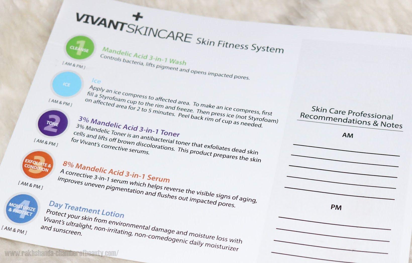Vivant Skincare Skin Fitness System Skin care, Skin, How