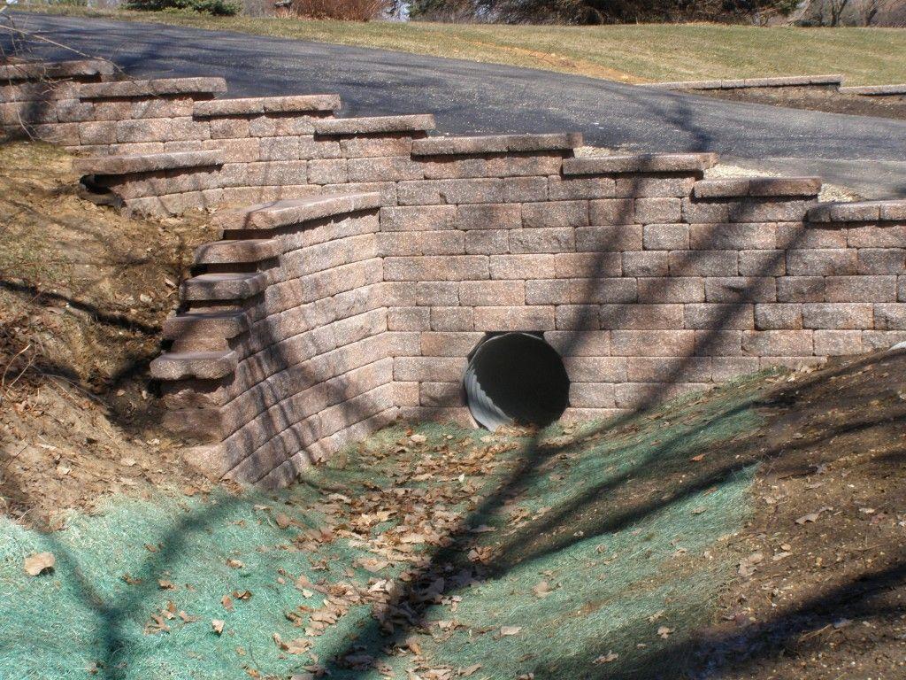 Driveway Culvert Retaining Wall Culvert Options