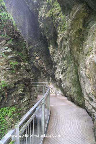 Trento Riva del Garda Cascata del Varone cartolina RT0421