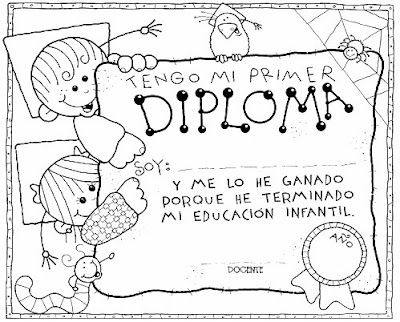 Diplomas Fin De Curso Funkids Teachers Day End Of School Year