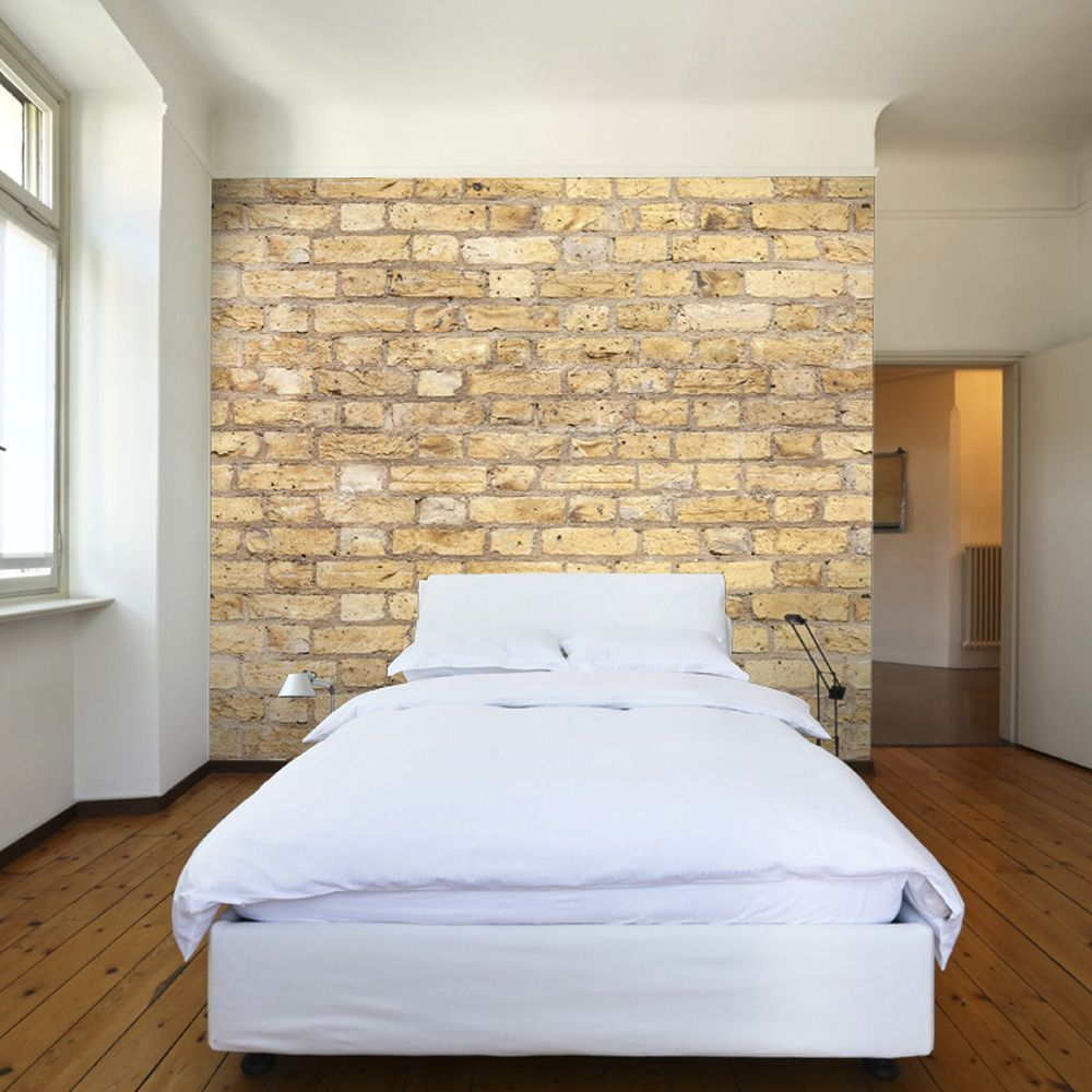 Yellow Brick Wallpaper by Watts London at BOUF | Decor Dreams ...