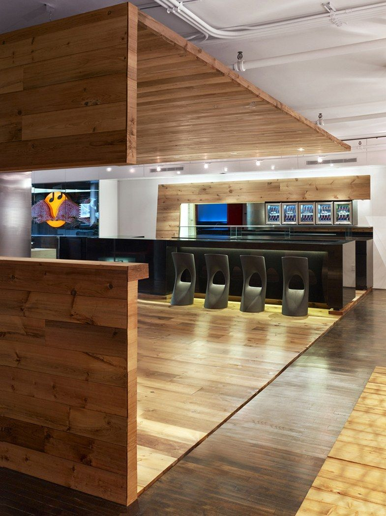 Red Bull Modern Office Interior Design