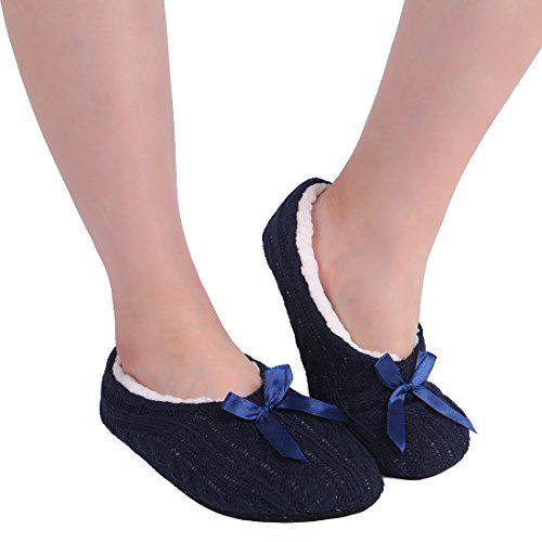 ChicNChic Women Cozy Knit Slipper Socks with Grippers Fuz... https://www.amazon.com/dp/B075R35DDT/ref=cm_sw_r_pi_dp_x_7Jj3zbT6HRBMP