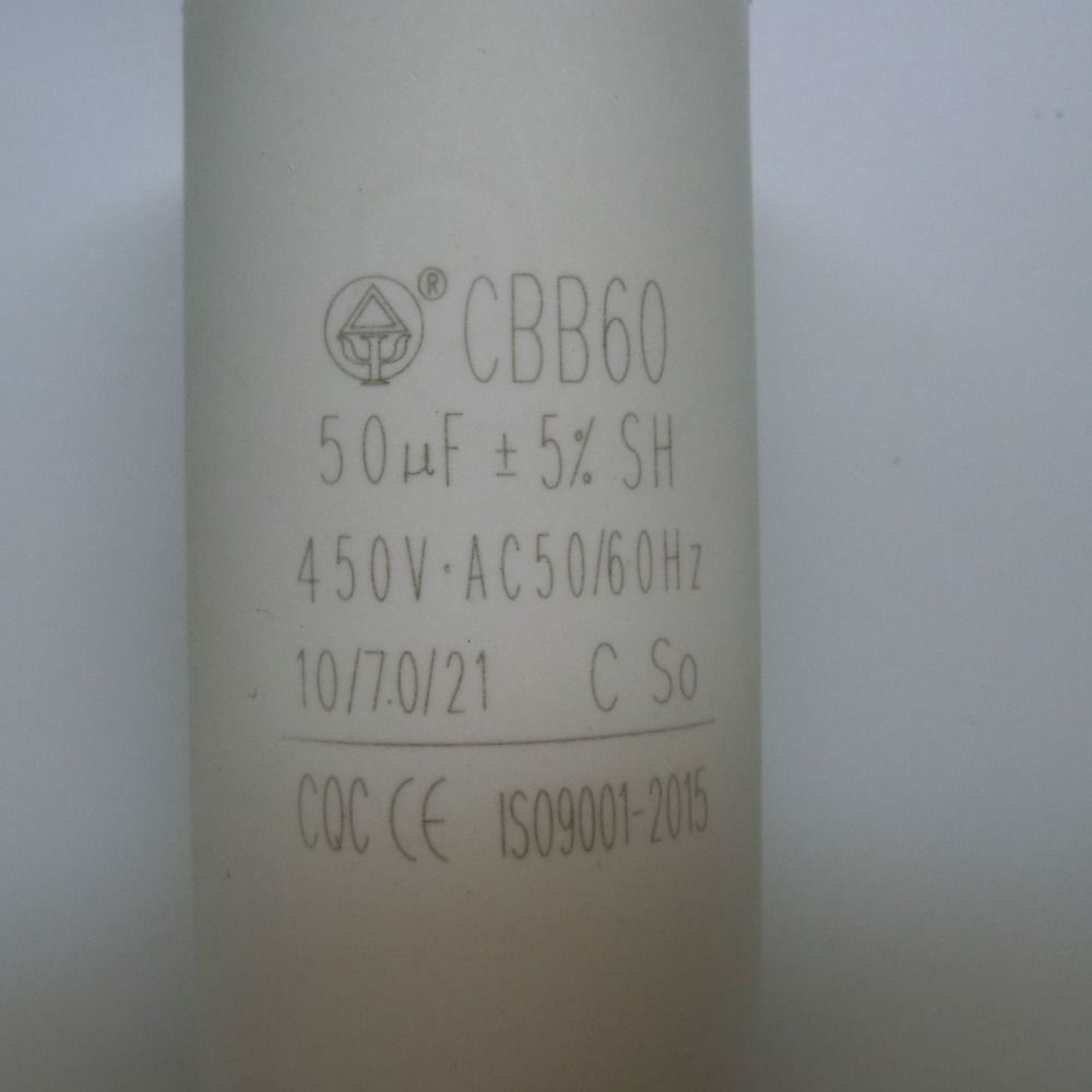 50uf 450v Ac50 60hz Two Wires Cylindrical Capacitor 10 Things Tools Wire