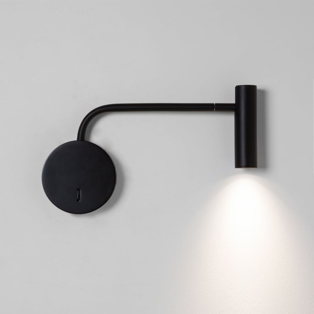 Enna Wall Led Black Reading Wall Light Wall Reading Lights Bedside Wall Lights Wall Lights